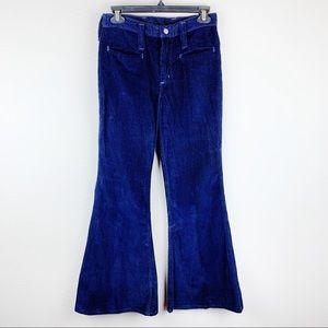 Vintage Maverick Corduroy Bell Bottom Pants B18